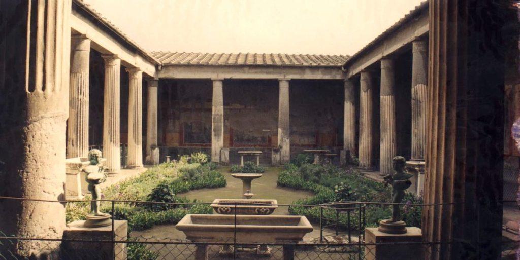 Domus romaine vetti pompei