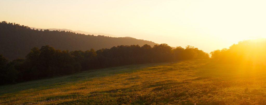 coucher de soleil abruzzes