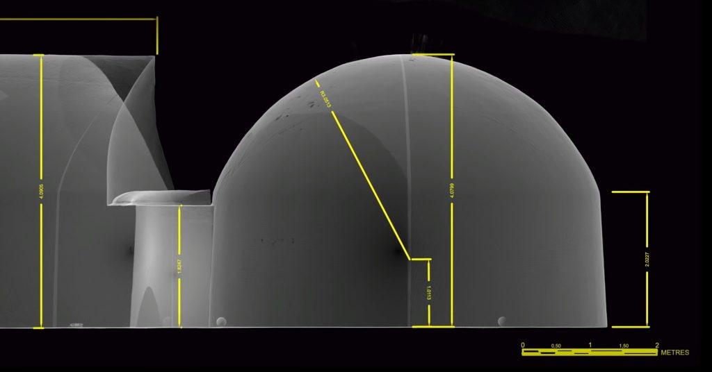 grotte de barabar sudama dimension en metre
